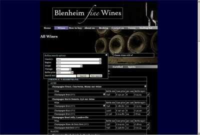 Blenheim Fine Wines